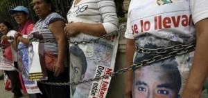 Ayotzinapa 43 parents (Reuters)