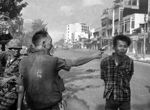 Feb 1 1968 Chief of SV national police execute VC suspect (Eddie Adams:AP) May 16 2016