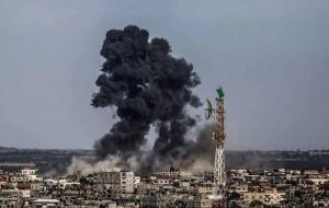 Gaza bombing (Mohmed Talal) May 5 2016