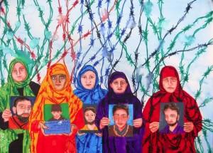 Kashmiri mothers by Rollie Mukherjee