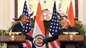 Obama and Modi