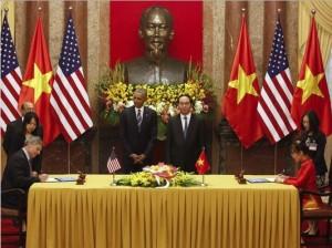 Obama in Vietnam May 2016 (Photo- Kham, AP) May 26 2016