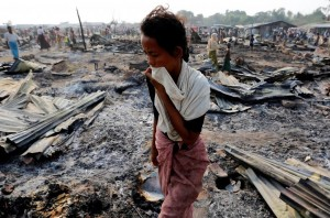Rohingya fire (REUTERS:Soe Zeya Tun) May 4 2016