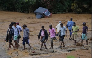 Sri Lanka floods ( (Eranga Jayawardena:AP) May 19 2016