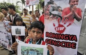 Stop Rohingya genocide (AP)