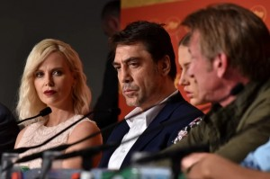The Last Face press conference in Cannes (Photograph- Clemens Bilan:EPA) May 21 2016
