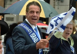 Andrew Cuomo marches in the annual Celebrate Israel Parade. Photo- Helayne Seidman: June 7 2016