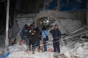 Bombing of Al Quds hospital, Beha el Halebi:Anadolu Agency:Getty Images