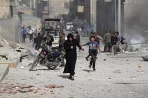 Idlib, Syria bombing (REUTERS:Khalil Ashawi) June 3 2016