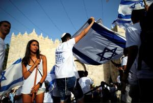 Jerusalem Day in E Jerusalem ( REUTERS:Amir Cohen) June 6 2016