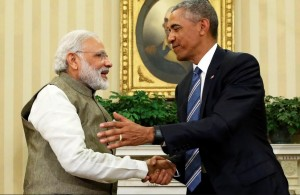 Modi and Obama (REUTERS:Jonathan Ernst) June 8 2016