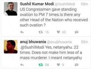 Modi:Netanyahu meme