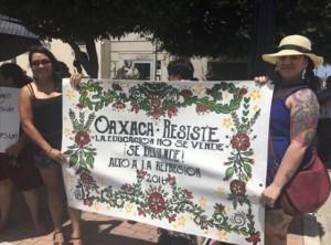 Oaxaca rally