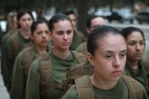 Parris Island SC female Marine recruits in boot camp (Scott Olson:Getty Images) June 18 2016