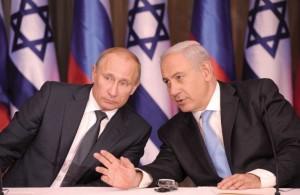 Putin and Netanyahu (Almasdarnews)