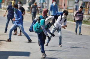 Srinagar protest vs Hindu resettlement (REUTERS:Danish Ismail) May 30 2016