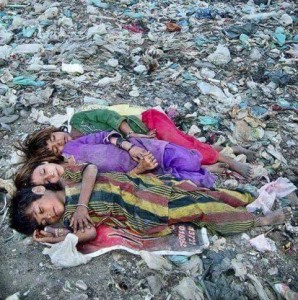 Homeless in Pakistan, Sindh province July 18 2016