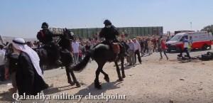 IDF on horseback