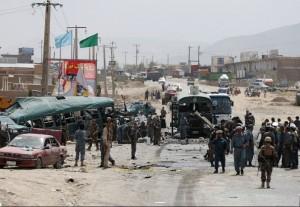 Kabul suicide bomb (Photo- Omar Sobhani:REUTERS) July 1 2016