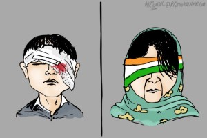 Kashmir bleeding by MIR Suhail