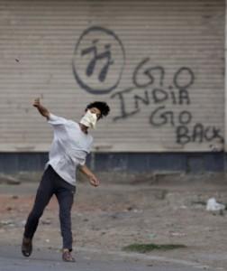 Kashmiri stone pelter (Dar Yasin:AP) July 17 2016