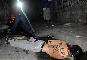 Suspected drug dealer:Manila (AFP) July 4 2016