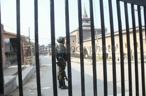 Jama Masjid in Srinagar closed down Aug 19 2016