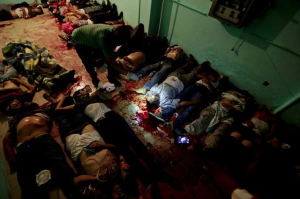 MB massacre ((Photo by Wissam Nassar:AP) 2013 reposted Aug 19 2016