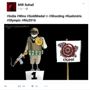 Mir Suhail--India wins Olympics