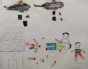 Picture of 2nd grade Syrian (The Syria Campaign) Aug 19 2016