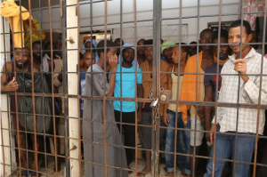 Refugees in Misrati, Libya detention center (ADEM DEMIR:ANADOLU AGENCY:GETTY IMAGES) Aug 29 2016