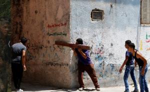 West Bank Al-Fawwar refugee camp, south of Hebron. REUTERS:Mussa Qawasma