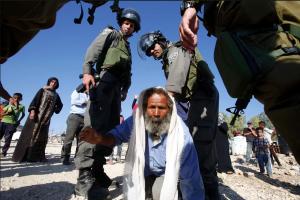 West Bank home destruction (Photograph- Hazem Bader:AFP:Getty Images) Aug 9 2016