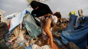 Yemen refugee camp (REUTERS:Khaled Abdullah) Aug 11 2016