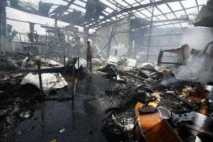 Yemen snack food factory (REUTERS:Khaled Abdullah) Aug 9 2016