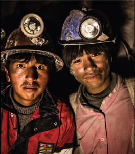 Bolivian child miners