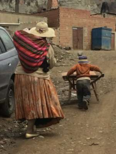 Child worker in Alpacoma, Bolivia Sept 2 2016