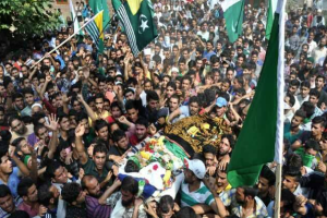 Javaid Ahmad funeral (Kashmir Today) Sept 12 2016
