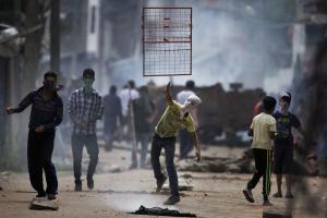 Kashmiri protesters day 55 (Dar Yasin:AP) Sept 3 2016