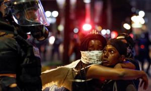 Keith Scott protest Charlotte (. REUTERS:Jason Miczek) Sept 22 2016