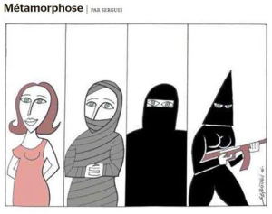 Metamorphose cartoon in Le Monde Sept 16 2016