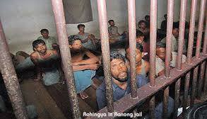 Rohingya in Thai jail