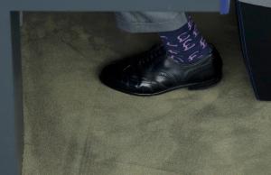 Socks of Nigel Farage (Vincent Kessler:Reuters) Sept 14 2016