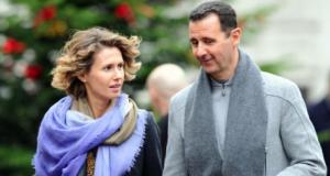 Bashar and Asmas Al-Assad