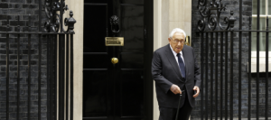 Kissinger in England (AP Photo:Alastair Grant ) Oct 28 2016