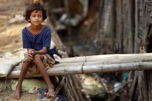 Rohingya Muslim girl ( AP : Saurabh Das) Oct 28 2016