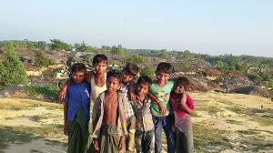 Rohingya kids at Kutupalong, Bangladesh (from Mohammed Imran) Oct 21 2016