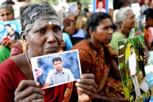 Sri Lankan mothers of disappeared Oct 7 2016