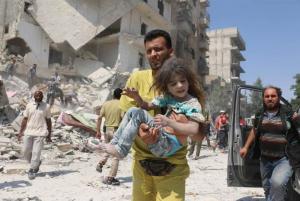 Aleppo Aug 2016 (Ameer al-Halbi : AFP : Getty Images) Nov 24 2016
