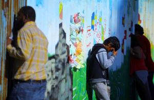 Barrier wall bt MX & US at Tijuana (Reuters) Nov 6 2016